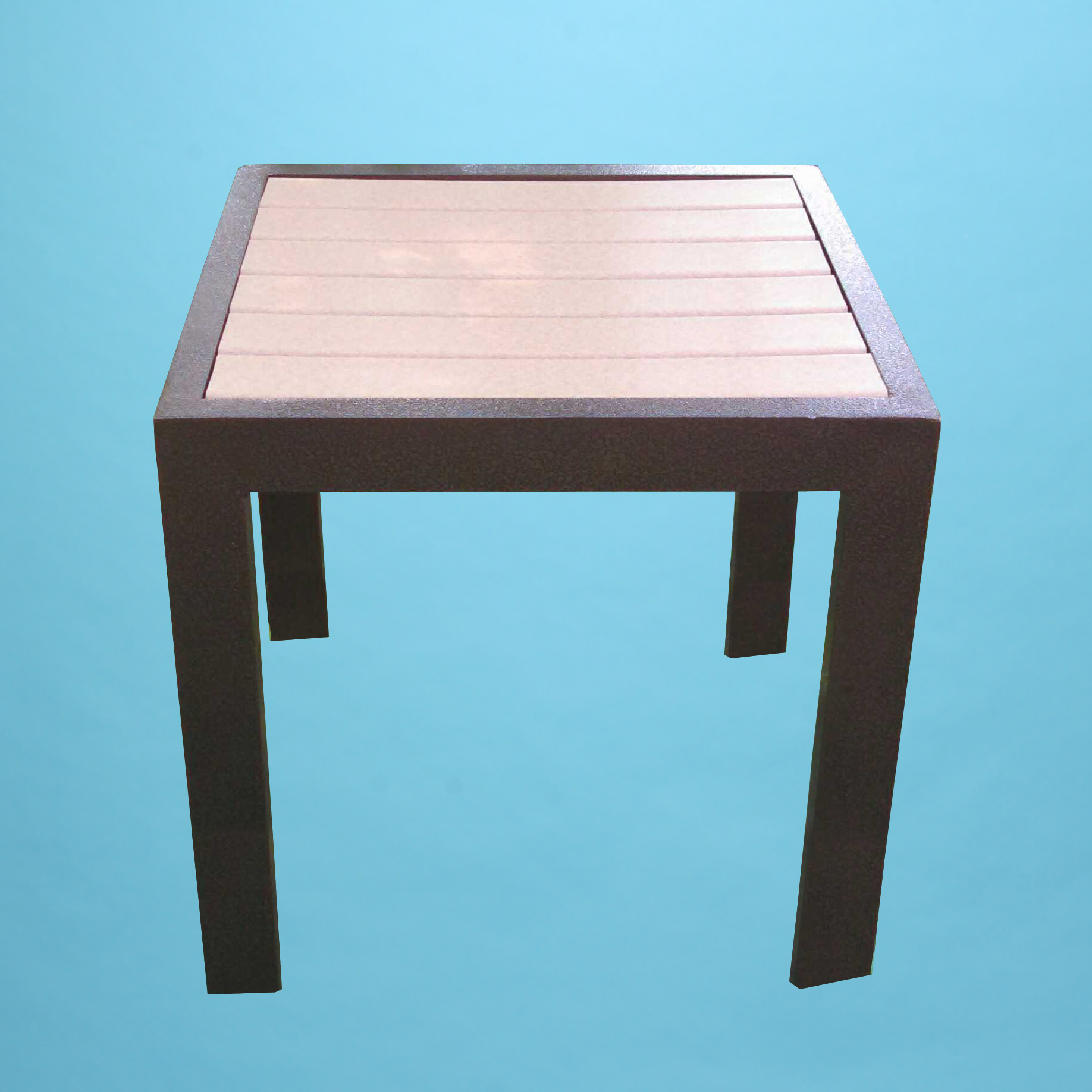 Eco Wood 18 Quot Square Table Patio Furniture By Dr Strap
