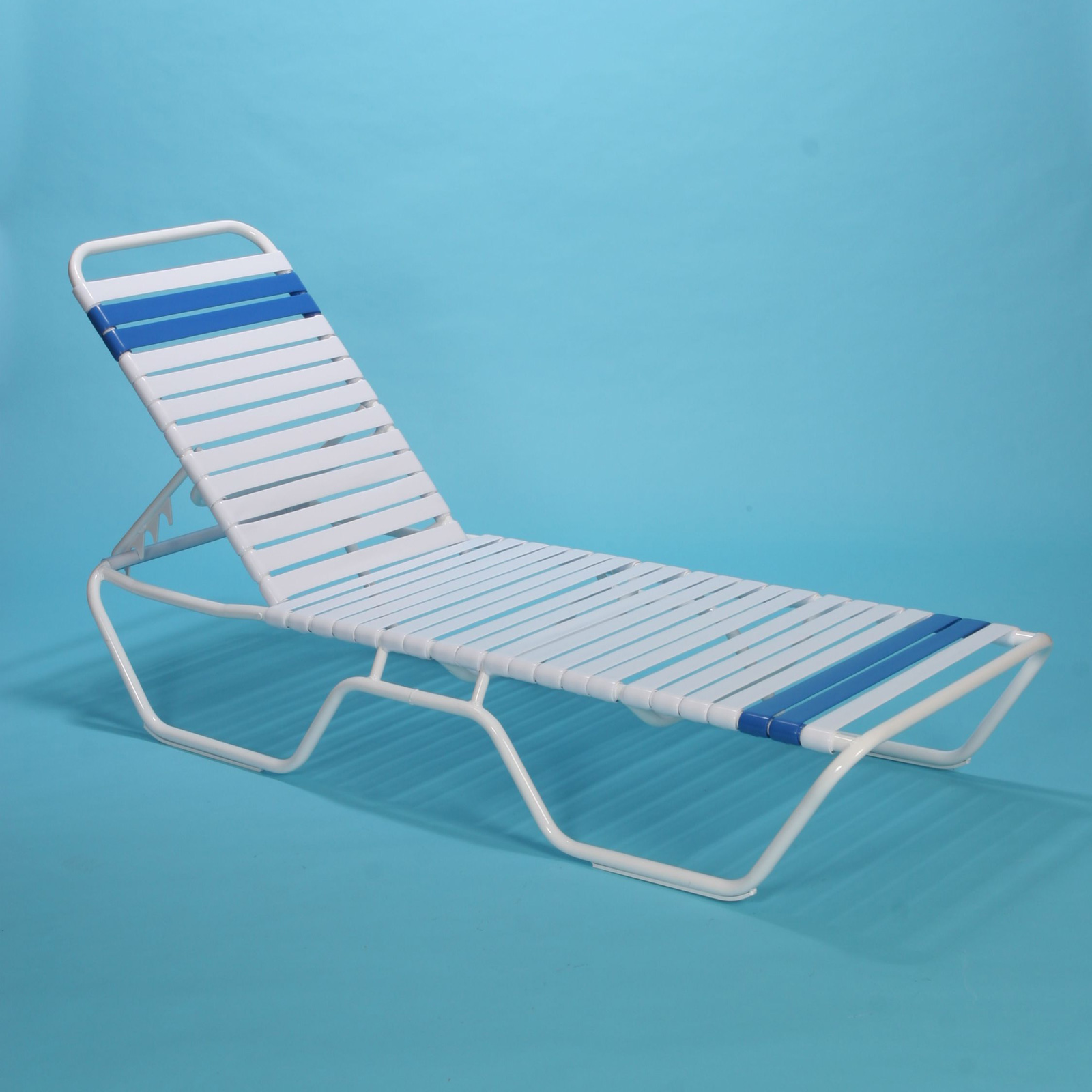 Commercial grade safety rail chaise lounge 12 tall for Big and tall chaise lounge