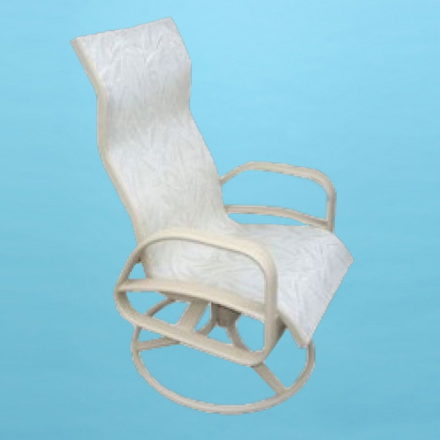 E-351 Eclipse high back swivel rocking chair