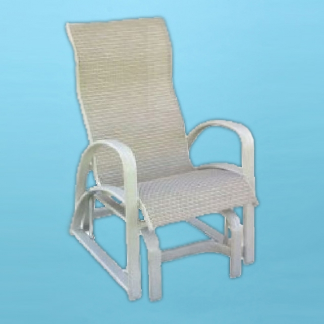 E-86GL1 Eclipse high back rocking glider rocking chair