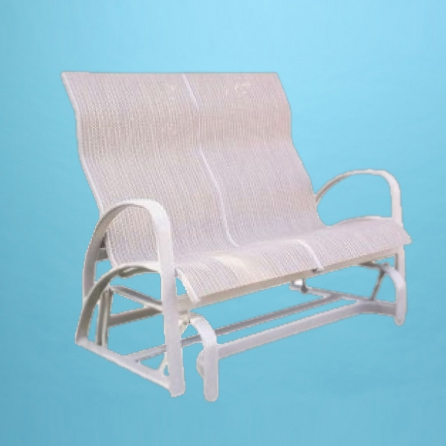E-286 Eclipse love seat rocking glider