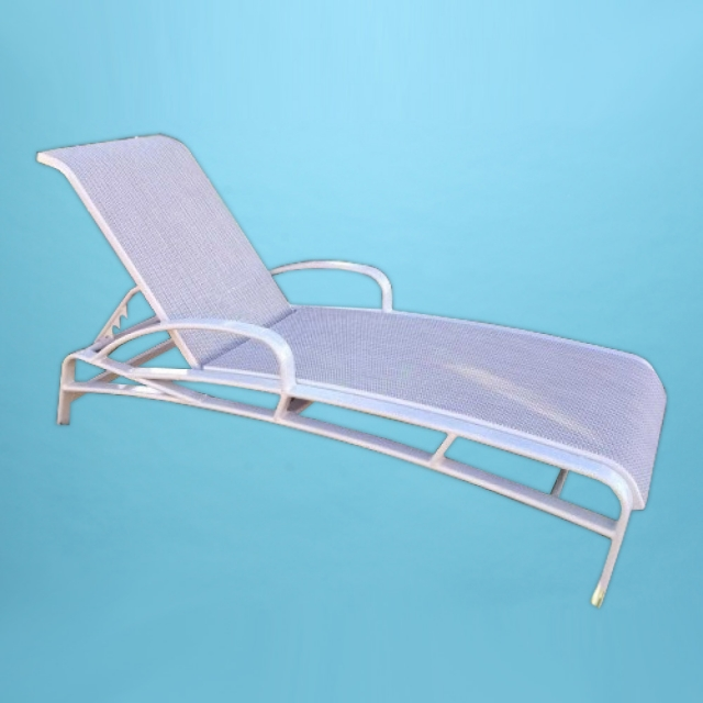 E-150A Eclipse Chaise lounge with arms