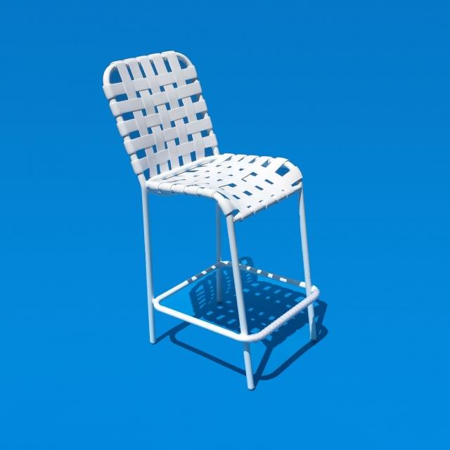 Commercial grade bar stool