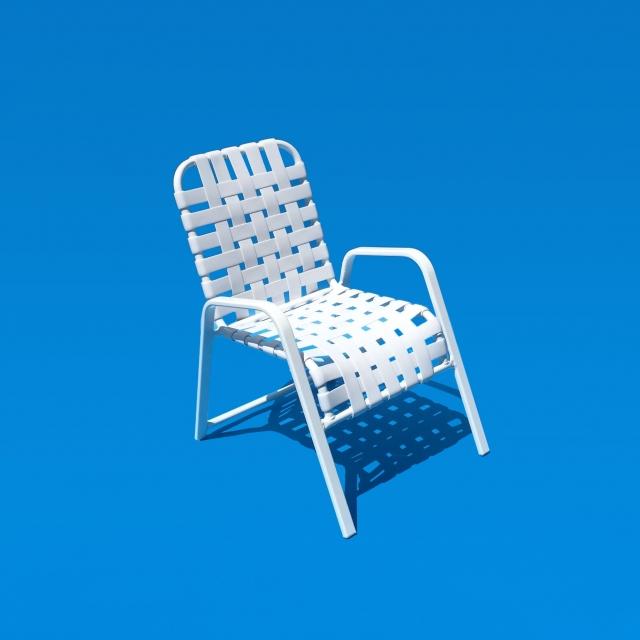 "Commercial grade chair 2"" straps double wrap"