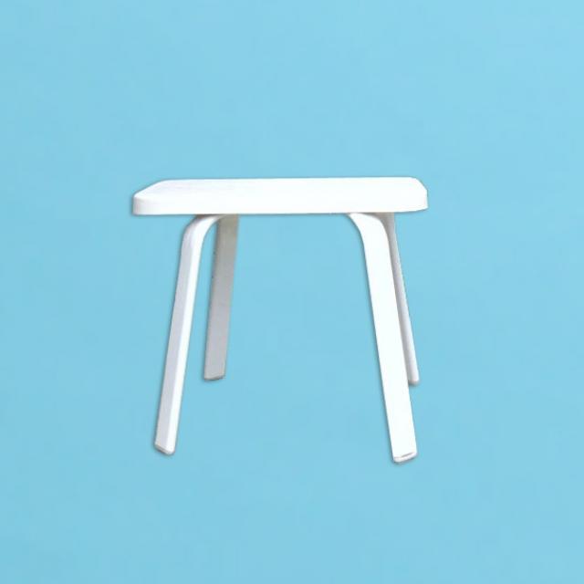 "E Line 14"" x 22""  side table with fiberglass top"