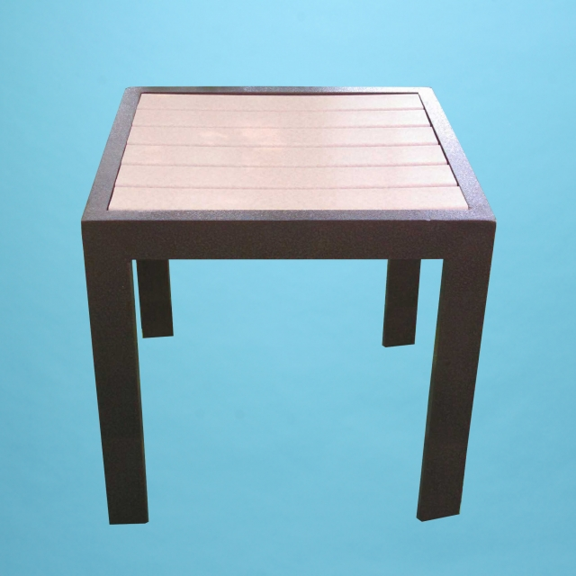 "ECO wood 18"" square table"