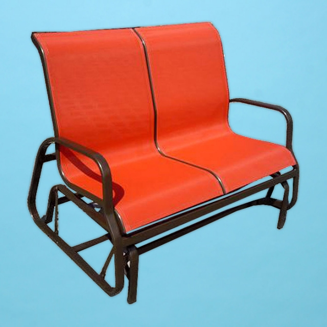 I-285 line sling loveseat gliding chair