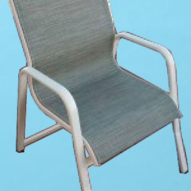 I-49 line sling café dining chair