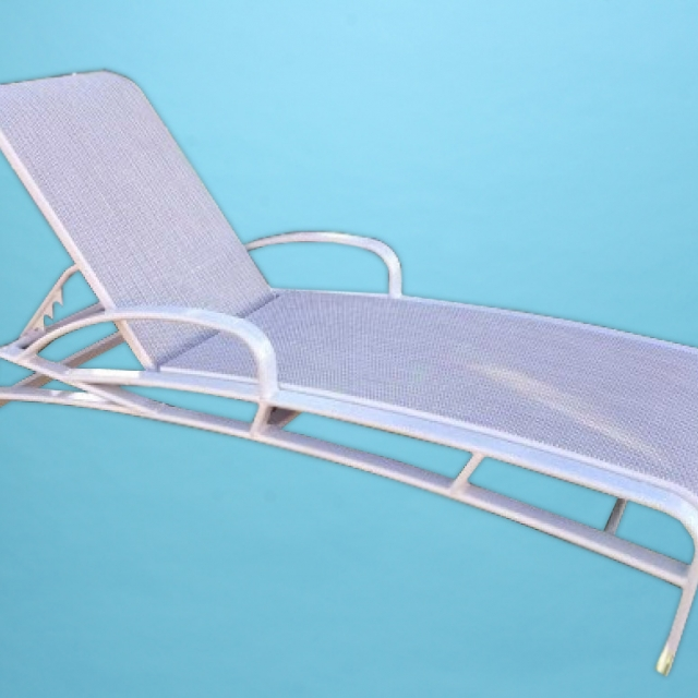 E-150A Eclipse Sling line with arm Chaise lounge