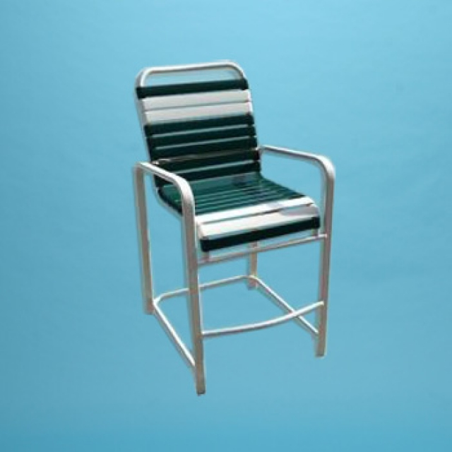 Commercial grade R Line bar stool