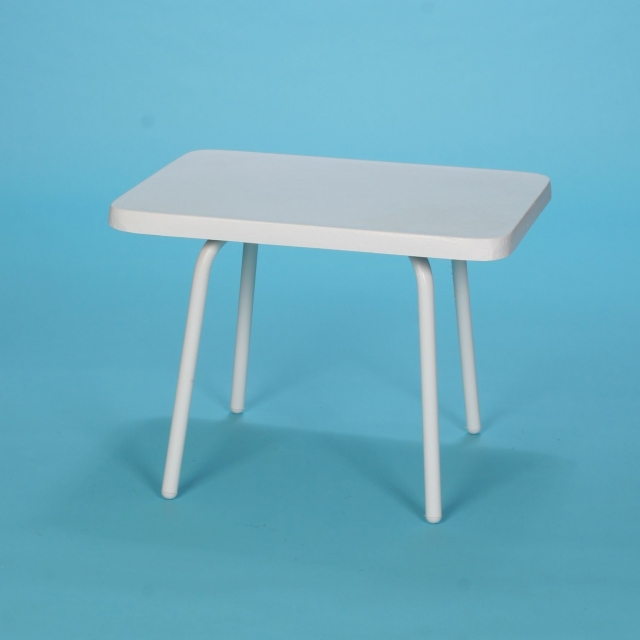 "14"" x 22"" Commercial Grade rectangular fiberglass top table"
