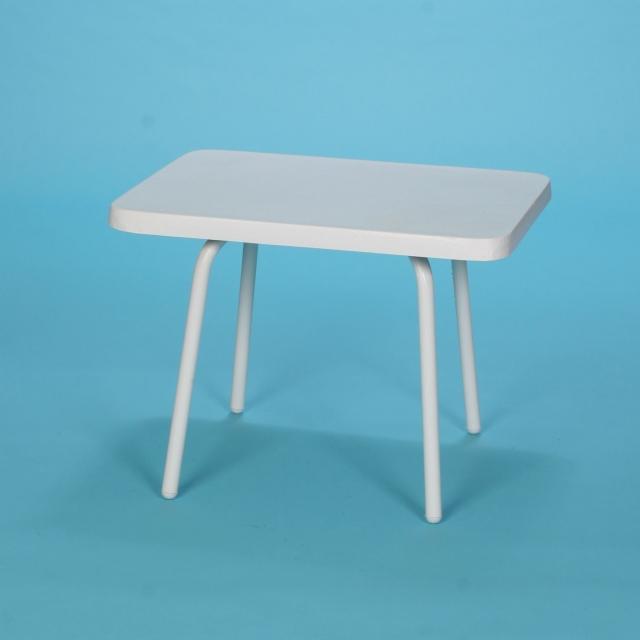 "14"" x 22"" Commercial Grade rectangular fiberglass top table"