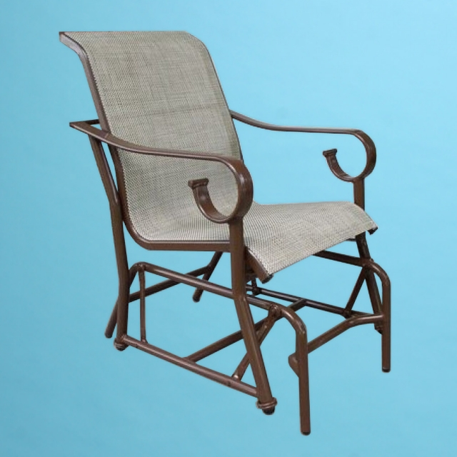 S-86 Sierra Sling line rocking chair with arms