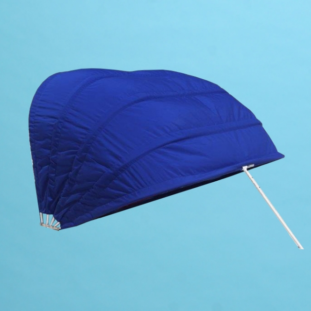 "Double size cabana marine grade fabric with 46"" mesh window"