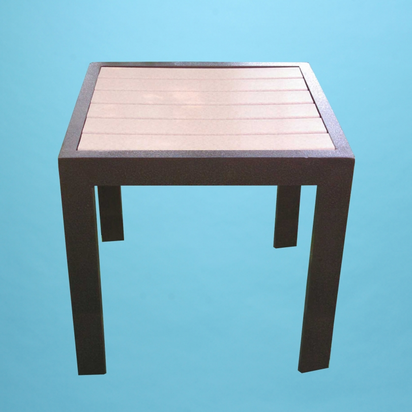 """ECO wood 18"""" square table"""