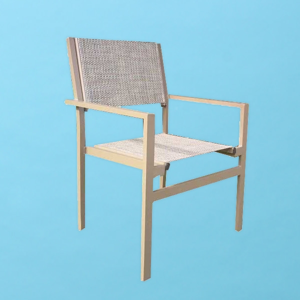"D Line sling Chair, 3/4"" x 1 1/2"" extrusion"