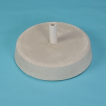 90 pound White umbrella base in masonary cement