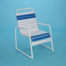 Commercial grade sled base chair