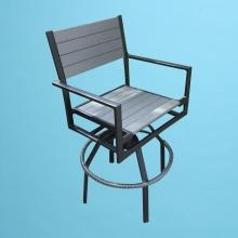 ECO wood swivel bar stool