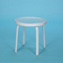 "18"" Commercial Grade round acrylic top table no hole"