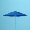 9' x 8 fiberglass rib double vent market umbrella