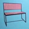ECO wood love seat