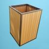 ECO wood trash receptacle