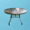 """48"""" round R style Aluminum top table"""